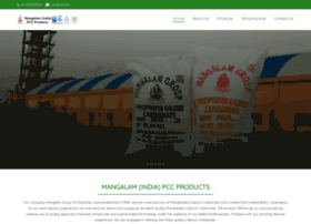 mangalamminerals.com