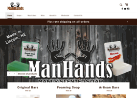 manhandssoap.com