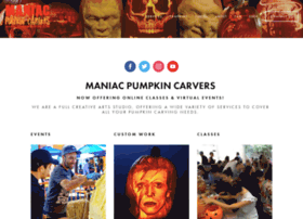 maniacpumpkincarvers.com