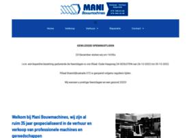 manibouwmachines.nl