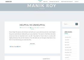 manikroy.com