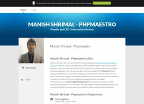manishshrimalphpmaestro.brandyourself.com