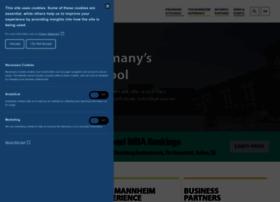 mannheim-business-school.com