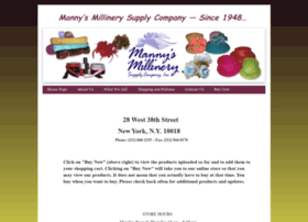 mannys-millinery.com