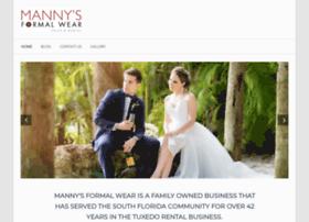 mannysformalwear.com