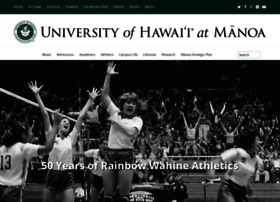 manoa.hawaii.edu