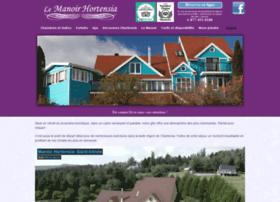 manoirhortensia.com