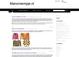 manoniempje.nl