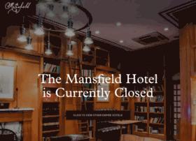 mansfieldhotel.com