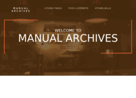 manual-archives.com