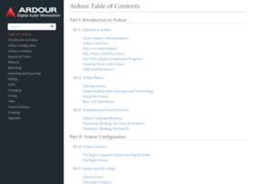 manual.ardour.org