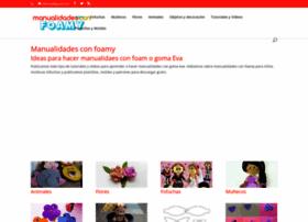 manualidadesconfoamy.com