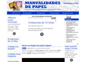 manualidadesconpapel.com
