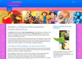 manualidadesfoamy.com
