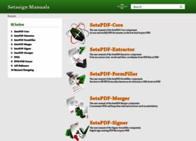 manuals.setasign.com