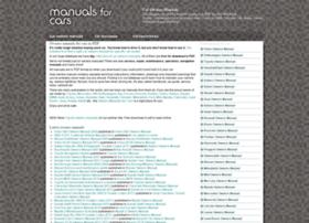 manualsforcars.com