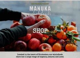 manukawholefoods.co.uk