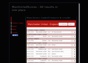 manunitedscores.com