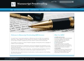 manuscript-proofreading.com