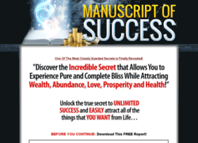 manuscriptofsuccess.com