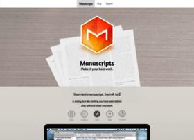 manuscriptsapp.com