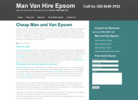 manvanhireepsom.co.uk
