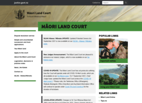 maorilandcourt.govt.nz