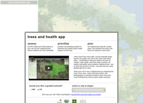 map.treesandhealth.org