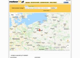 mapa.meteor24.pl
