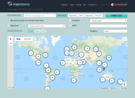 maplatency.com