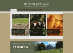 mapleheightsfarm.com