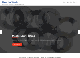 mapleleafmetals.ca