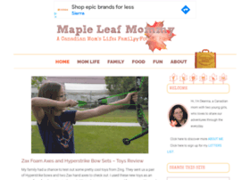 mapleleafmommy.com