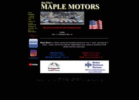 maplemotors.net