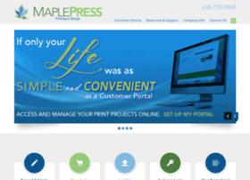 maplepressprinting.com