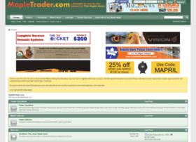 mapletrader.com