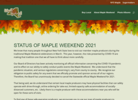 mapleweekend.com
