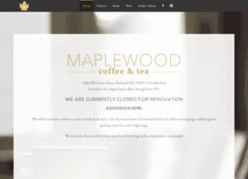 maplewoodcoffeeandtea.com