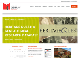 maplewoodlibrary.org