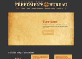 mappingthefreedmensbureau.com