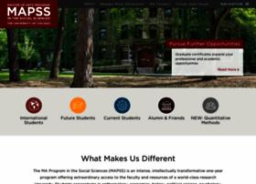 mapss.uchicago.edu
