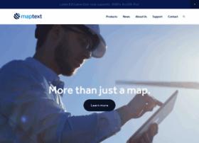 maptext.com