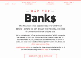 mapthebanks.com
