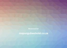 mapungubwehotel.co.za