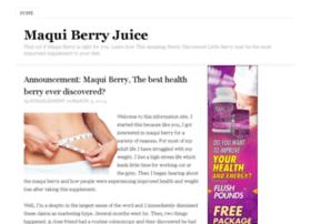 maquiberryjuice.net