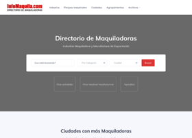 maquiladoras.infomaquila.com
