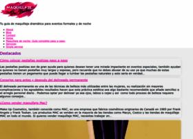 maquillajedenoche.net