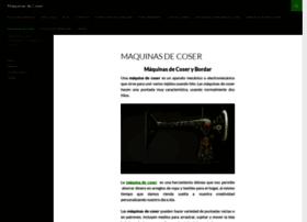 maquinasdecoser.info
