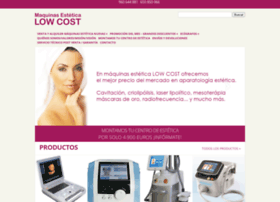maquinasesteticalowcost.com