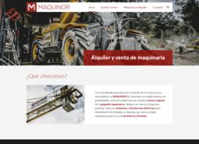 maquinor.es